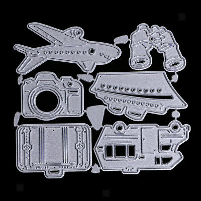 Travel Accs Metal Cutting Dies Stencil Scrapbook Paper Craft Embossing Tool