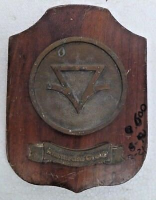 Marine Vintage Ship Nautical Brass Name Plate - Signs - Marmedsa Group - B21