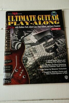 Ultimate Guitar Play Along, Vol.1 (Musicians Institute)