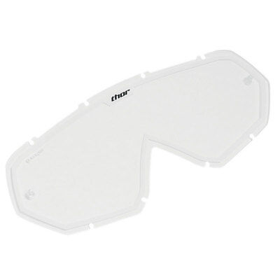 Thor Mx Gear 2014 Enemy/Hero Clear/White Motocross Youth Kids Goggle Lens