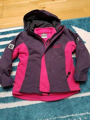 best cheap 93899 d872d ❤JACK WOLFSKIN FAMILY 3 in 1 Jacke Texapore 4x4 in pink, Gr. 116, Top  Zustand**❤