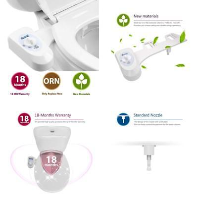 Mechanical Non Electric Bidet Water Spray Self Cleaning Toilet Seat Attachment