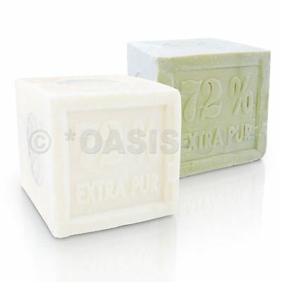 Marseille Soap 600g French Traditional Receipt Beige Palm/Olive Oil
