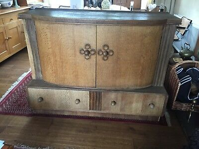 Beautiful 1930 Art Deco bow front sideboard