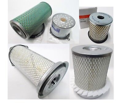 Oil Filter, Fuel Filter, Air Filter options for Lister Petter HR4 Engine