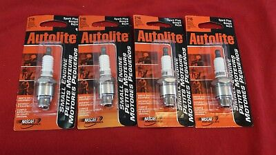 4 x Autolite 216 Non-Resistor Nickel Plated Spark Plug Free SHIPPING!