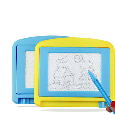 Magnetic Drawing Board Doodle Pad Writing Craft Art Children Kids Toys Gift Gy