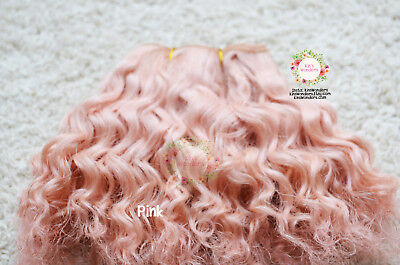 Mohair for Dolls - Curly mohair for making dolls wigs, rooting dolls, stitch on