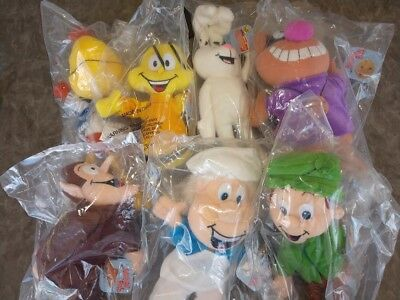 Full Set 7 General Mills Breakfast Pals Count Chocula Trix Rabbit Lucky New NRFB
