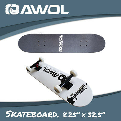 "Awol Complete Skateboard Kit11 / Setup - Deck8.25"", Trucks, Wheels (Skate Board)"
