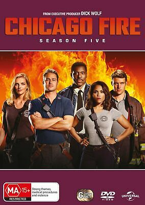 Chicago Fire Season 5 Box Set DVD Region 4 NEW