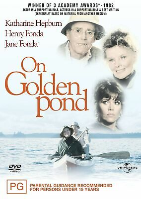 On Golden Pond DVD Region 4 NEW