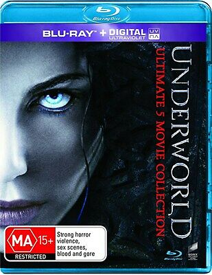 Underworld Ultimate 5 Movie Collection Box Set with Digital Download Blu-ray