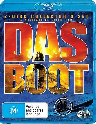 Das Boot The Directors Cut Blu-ray Region B NEW