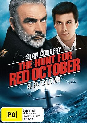 The Hunt for Red October DVD Region 4 NEW