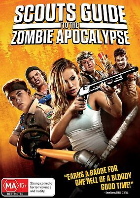 Scouts Guide to the Zombie Apocalypse DVD Region 4 NEW