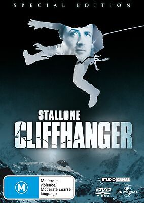 Cliffhanger DVD Region 4 NEW