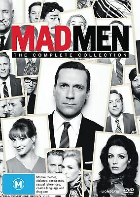 Mad Men The Complete Collection Box Set DVD Region 4 NEW