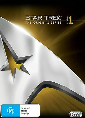 Star Trek the Original Series Season 1 DVD Region 4 NEW