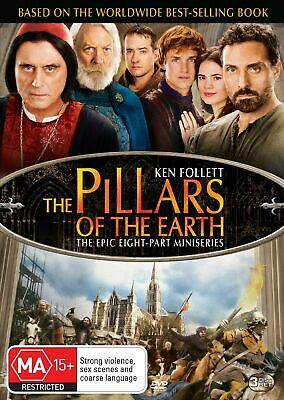 The Pillars of the Earth DVD Region 4 NEW