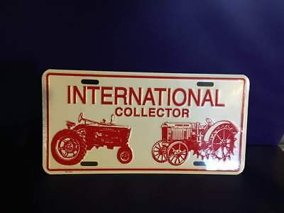 International Harvester Collector License Plate, New in Packaging.