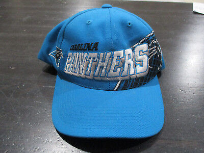 fac81587070 VINTAGE Sports Specialties Carolina Panthers Snap Back Hat Cap NFL Football  90s
