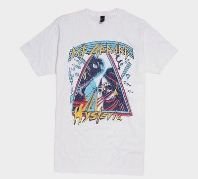 Def Leppard HYSTERIA T-Shirt NWT 100% Authentic & Official