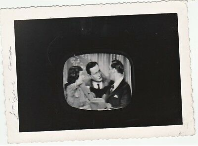 Vernacular Snapshot Photo - 1953 Your Show of Shows Television TV Sid Caesar etc