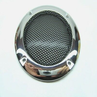 "2pcs 2""inch Red /silver Speaker grille speaker decorative ring Protective cover"