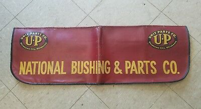 VTG NAT'L BUSHING & PARTS CO. FENDER COVER MOPAR / Unit Parts Co. Oklahoma City