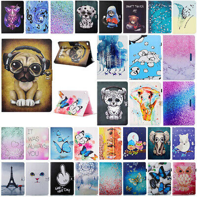 "Smart Magnetic Leather Case Stand Cover For iPad 2 3 4 5/Mini/Air/9.7"" 2018/2017"