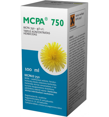100ml MCPA 750 NUFARM LAWN HERBICIDE HIGH QUALITY CORN WEED CONTROL Baltic agro