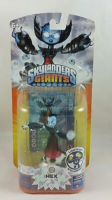 #E#  Skylanders Giants Hex Series 2 Undead, Lightcore Lights Up, NEW AND SEALED