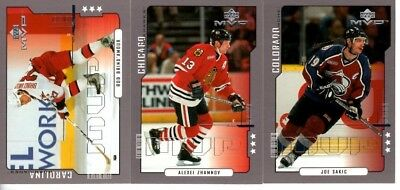 2000-01 Upper Deck MVP Third Star PICK YOUR SINGLES LOT WOW FLAT SHIPPING RATE
