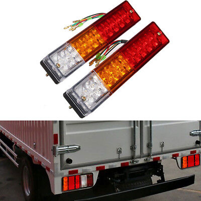 20 LED Tail Light Car Truck Trailer Stop Rear Reverse Turn Indicator Lamp Light