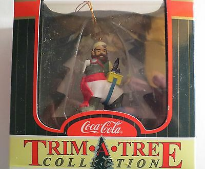 Coke Coca Cola Trim A Tree Collection Elf & Walrus Ornament MIB NRFB
