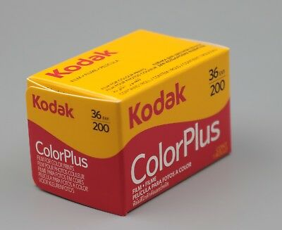 10Rolls Kodak Color Plus Color Plus 200 35mm 135-36 Negative Film Fresh 2020