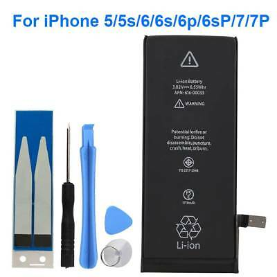 Replacement Li-ion Internal Battery W/ Repair Tool For iphone 5/5s/6/6s/7/7 Plus