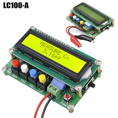 1Pc LC100-A High Precision Digital Inductance Capacitance Meter L/C Power Board