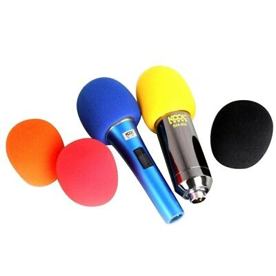 5Pcs Microphone Windscreen Sponge Foam Wind Shield Pop Filter Mic Cover
