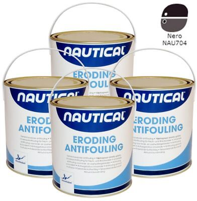 2,5 Litri Antivegetativa Autolevigante Nautical Col. Nero Akzo Nobel
