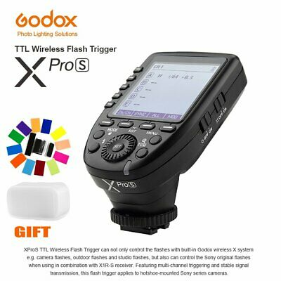 GODOX Big LCD XPRO-S 2.4G TTL HSS Wireless Transmitter Trigger For Sony Cameras