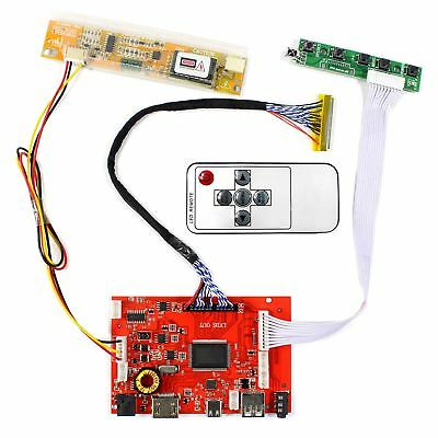 HDMI Type C Audio LCD Board for 15.4inch 17inch 1440x900 CCFL 30pin LCD Display
