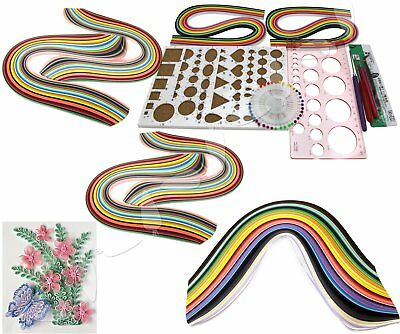 Starter Quilling Paper Sets Cork DIY Tool Folk Decoration Workboard Slotted Tool