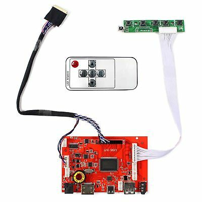 HDMI Type C Audio LCD Board for 10.1inch 1024x600 B101AW03 40pin LED LCD Display