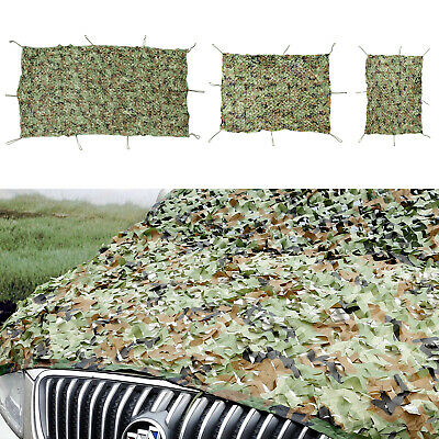 Camo Net Camouflage Netting Reversible Green Hunting/Shooting Hide Army 3 Sizes