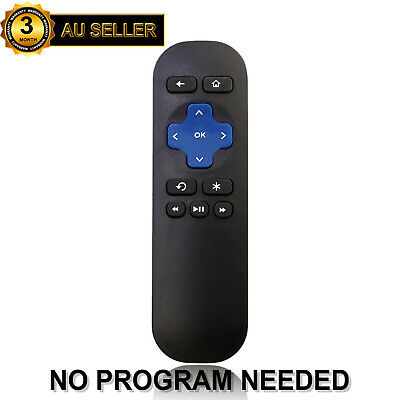 Replacement Remote Control for ROKU 4 3 2 1 Streaming Player Telstra TV 1 & 2