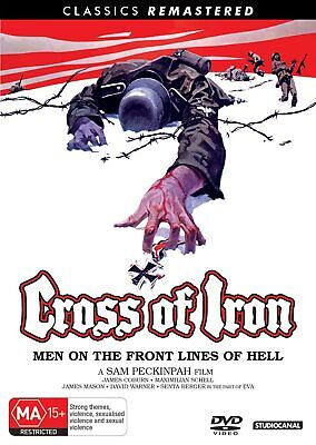 Cross of Iron DVD Region 4 NEW