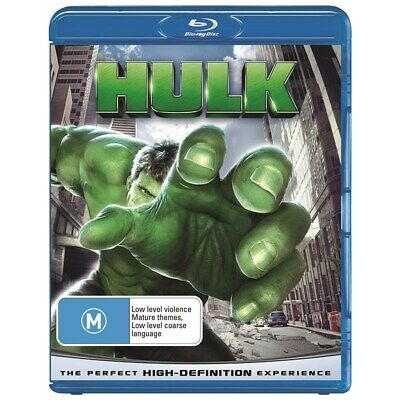 Hulk Blu-ray Region B NEW