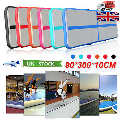 0.9X3m Inflatable Gymnastics mat Air Track Floor Home Tumbling Gym Mat